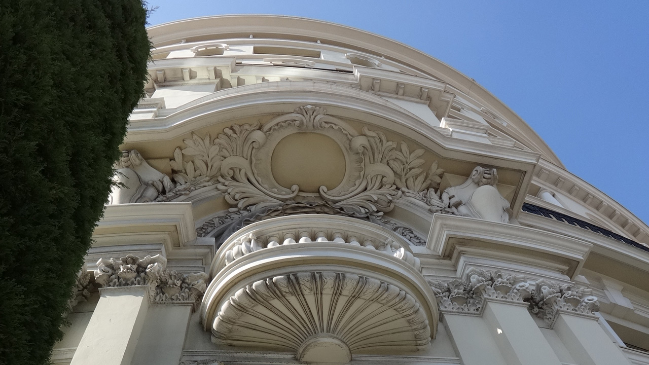 Hôtel de Paris, Monaco - Palace Architecture - Affine Design