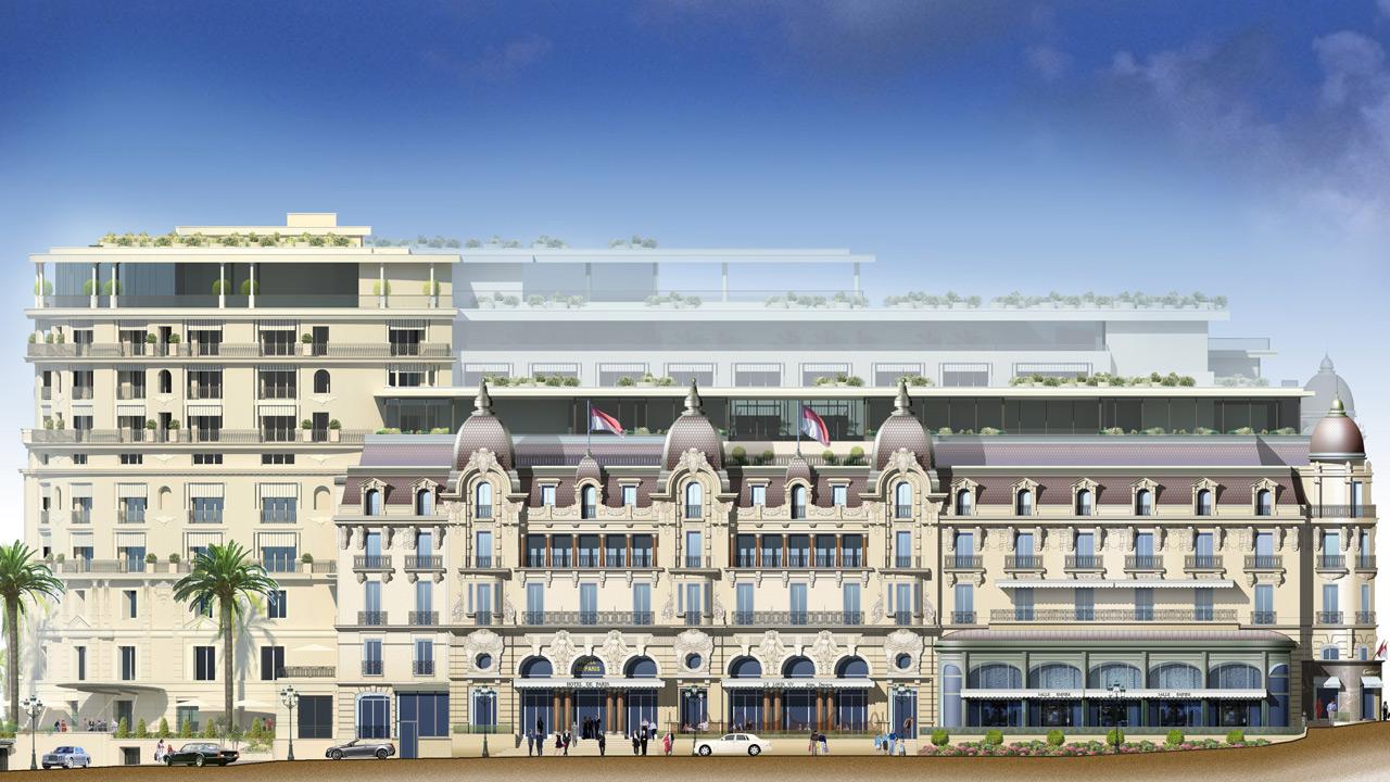 H tel de paris monaco palace architecture affine design for Hotel de paris