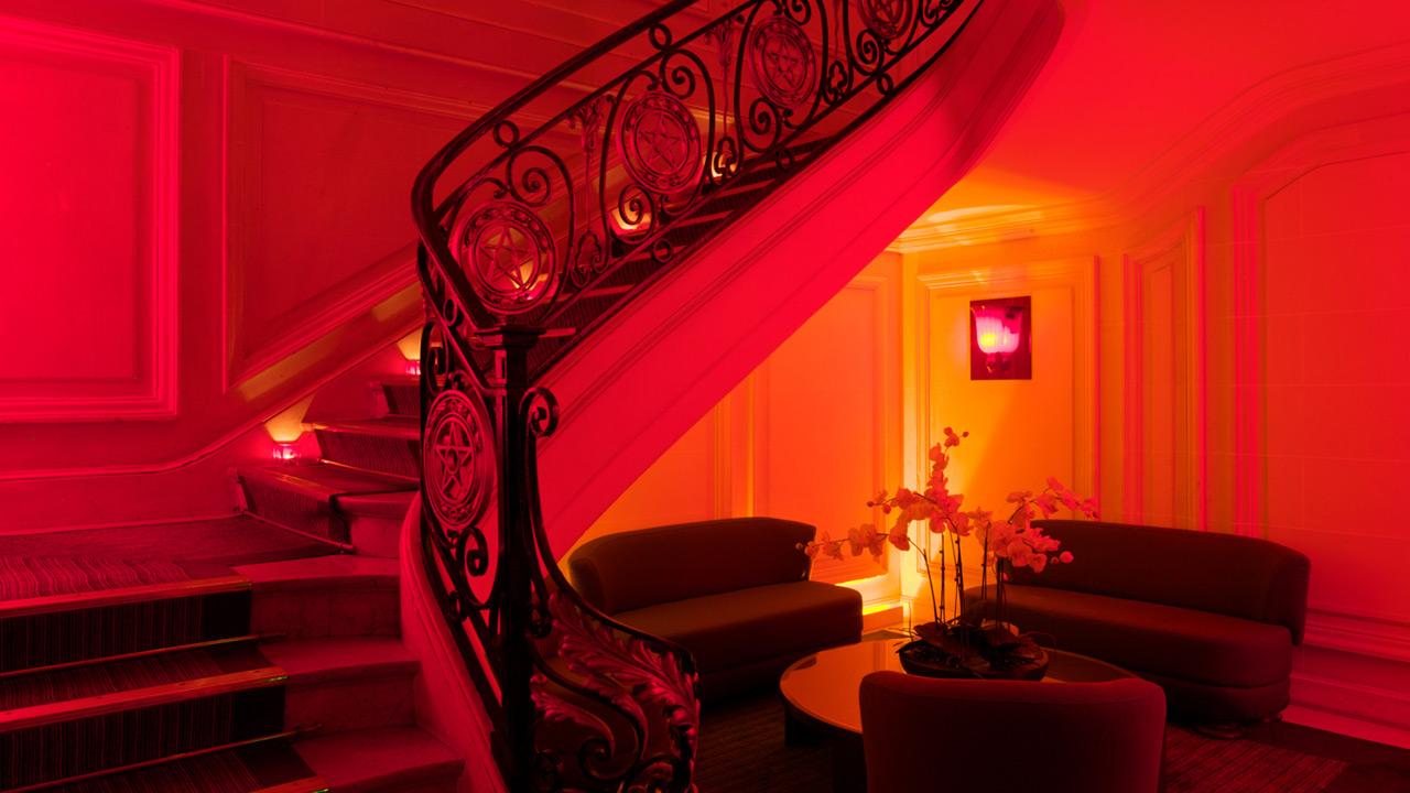 Hôtel Pershing Hall - 5 star Hotel Architecture - Affine Design
