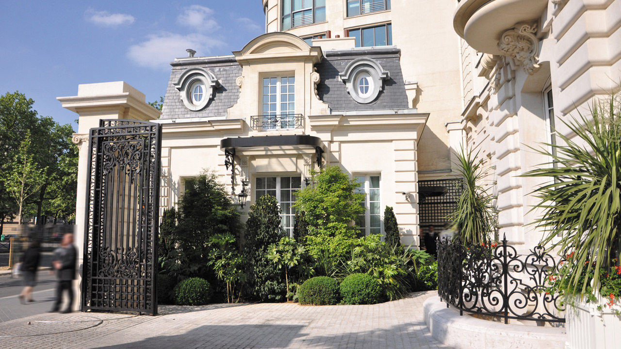 Hôtel Shangri-La Paris - 5 star palace architecture - Affine Design