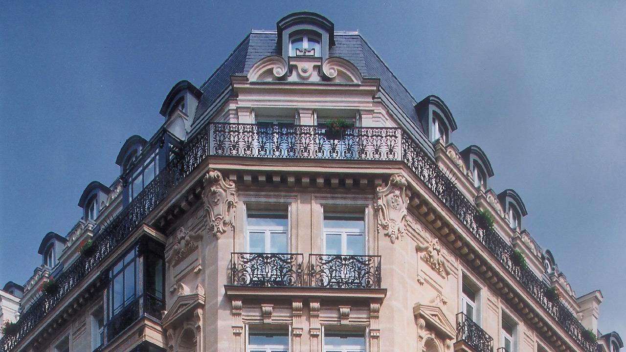 Hôtel de La Trémoille - Architecture de Palace - Affine Design