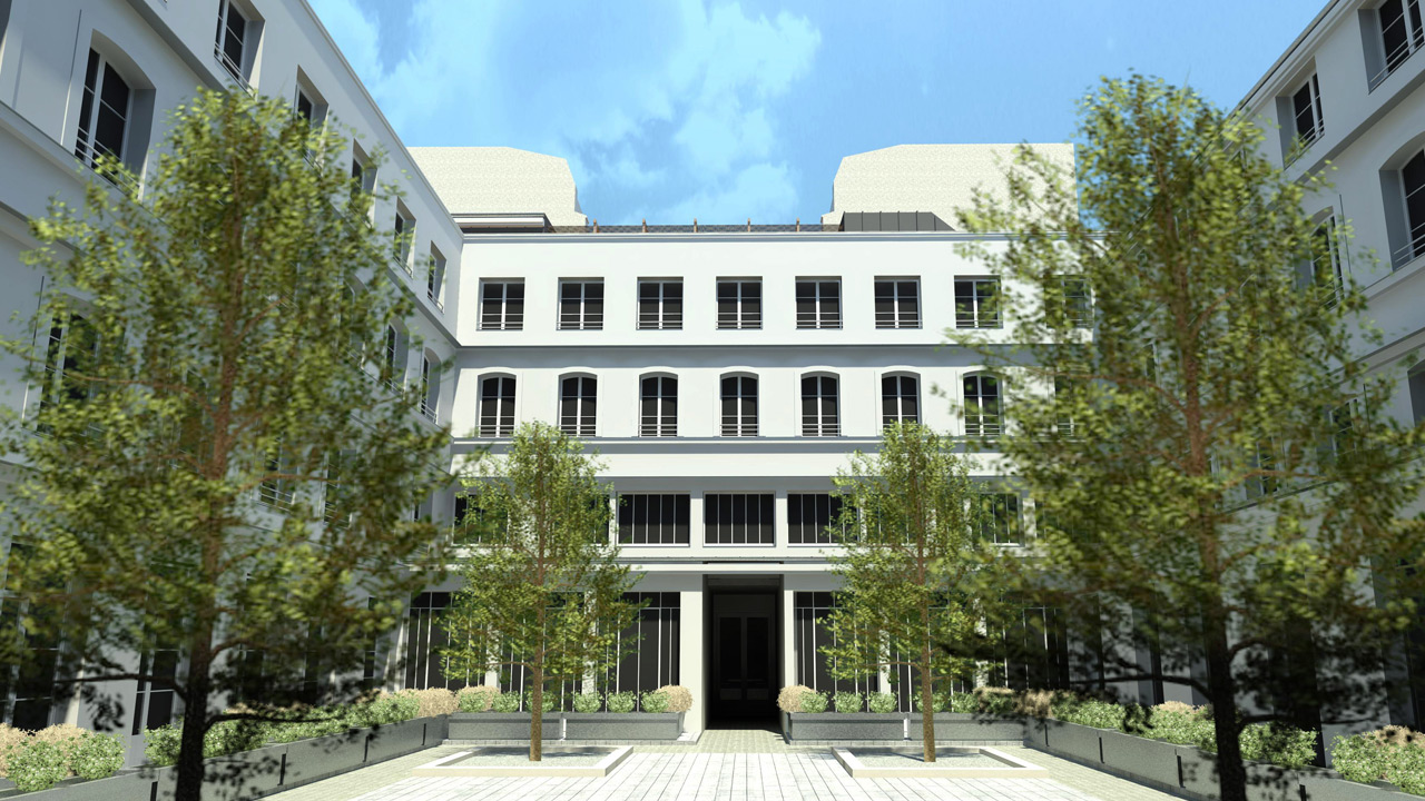 Hôtel Rivié - Architecture hôtel de luxe 4* - Affine Design