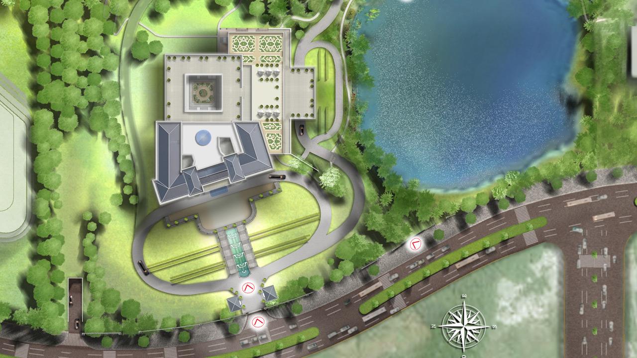 Nanjing VIP Convention Centre - Architecture de Luxe - Affine Design