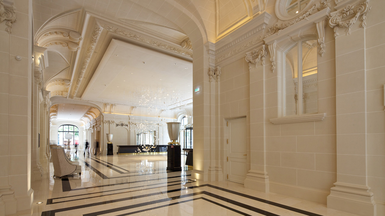 The peninsula hotel affine design architecture for Hotel design original paris