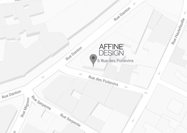 Map Affine Design