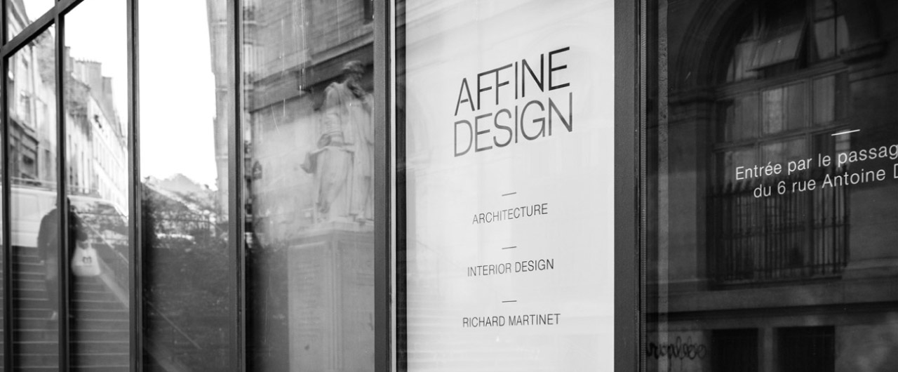 Contactez Affine Design