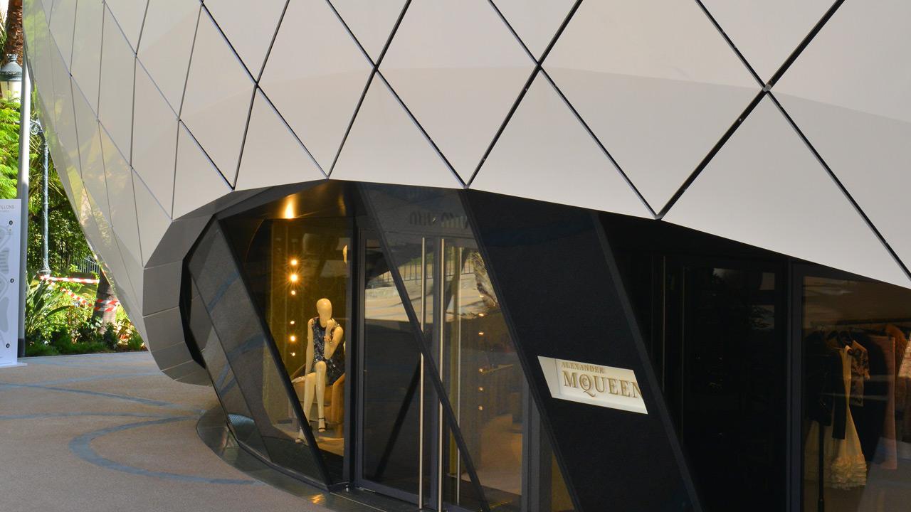 Pavillions Monte-Carlo - Architecture retail de luxe - Affine Design
