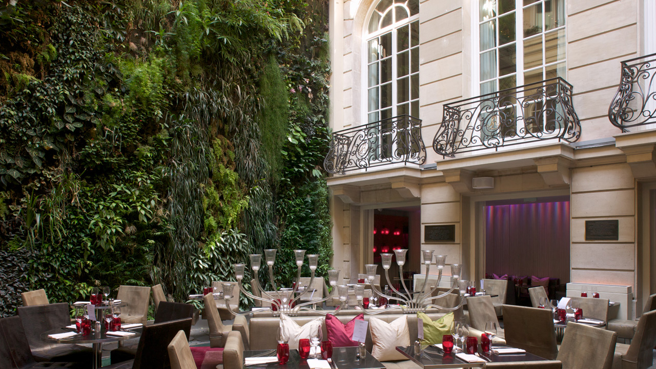 H tel pershing hall affine design architecture for Hotel discret paris