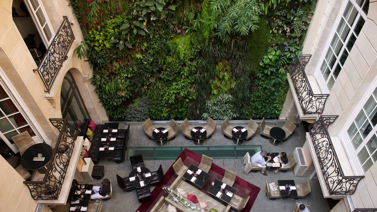 Pershing Hall - Architecture hôtel de luxe 5* - Affine Design